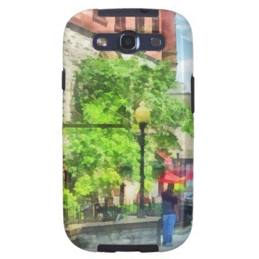 Calle del norte de la perla, Albany, NY Galaxy S3 Carcasas