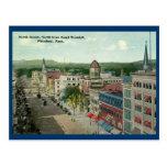 Calle del norte, vintage 1912 de Pittsfield Postales