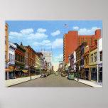 Calle del olmo de Greensboro Carolina del Norte Impresiones