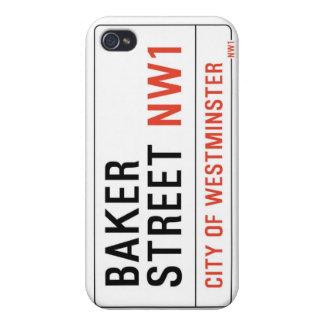 Calle del panadero (Sherlock) iPhone 4/4S Carcasas