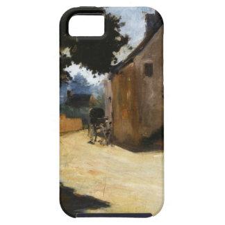 Calle del pueblo, Louveciennes Pierre-Auguste Funda Para iPhone SE/5/5s