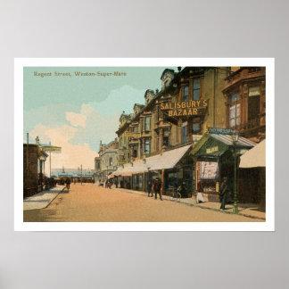 Calle del regente de la Weston-Estupendo-Yegua de Póster