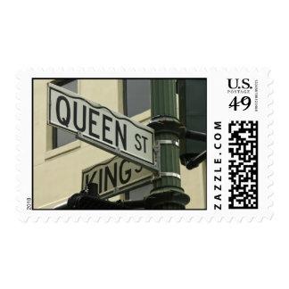 Calle del rey y de la reina, Charleston, SC Sello