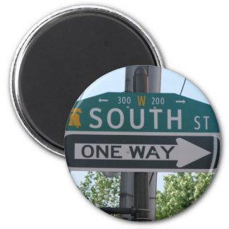 Calle del sur - Philadelphia Imán Redondo 5 Cm