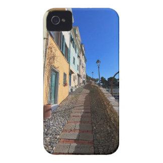calle en Bogliasco, Liguria, Italia iPhone 4 Case-Mate Funda