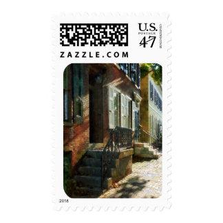 Calle en el nuevo castillo Delaware Timbre Postal