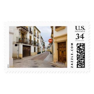 Calle en la ciudad vieja de Córdoba Sello Postal