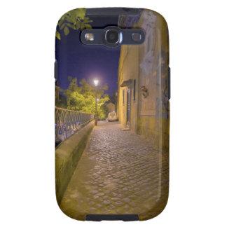 Calle en la noche en Roma, Italia 2 Galaxy SIII Cárcasas