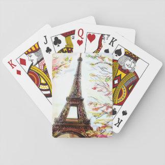 Calle en París - ejemplo 2 Barajas De Cartas