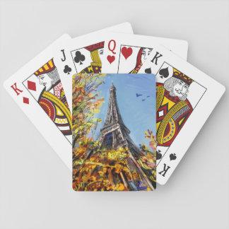 Calle en París - ejemplo Barajas De Cartas