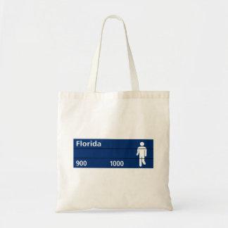 Calle Florida, Buenos Aires Street Sign Bag