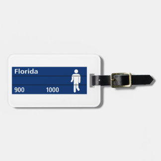 Calle Florida, Buenos Aires Street Sign Luggage Tag