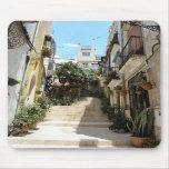 Calle histórica de Alicante. Cojín de ratón Alfombrilla De Ratón