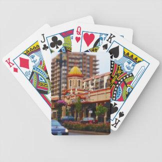 Calle Kansas City de la plaza 47.a del club de cam Baraja Cartas De Poker