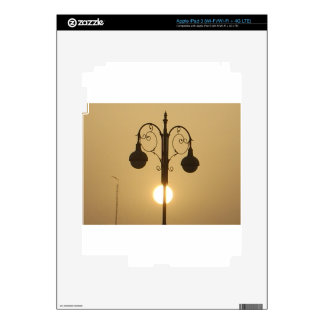 Calle light.png de la puesta del sol del Victorian Pegatina Skin Para iPad 3