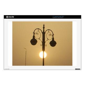Calle light.png de la puesta del sol del Victorian Portátil Calcomanías