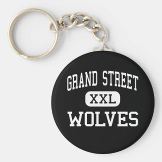 Calle magnífica - lobos - campus - Brooklyn Nueva Llaveros