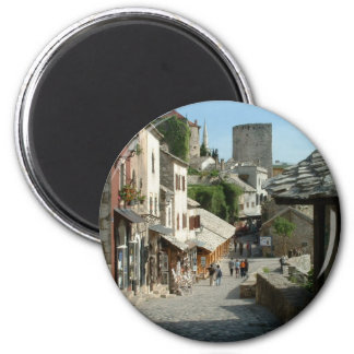 Calle medieval imán redondo 5 cm