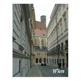 Calle medieval postal