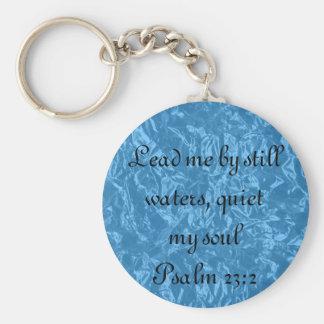 Calle mi llavero del 23:2 del salmo del verso de l