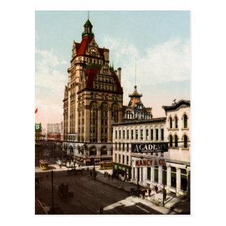 Calle Milwaukee de Wisconsin Tarjetas Postales