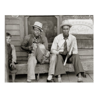 Calle Musicians, 1938 Tarjetas Postales