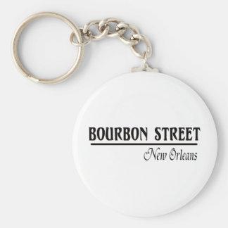 Calle New Orleans de Borbón Llavero