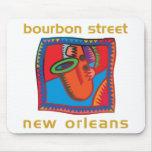Calle New Orleans de Borbón Tapete De Ratón