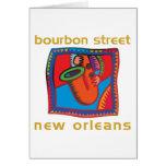 Calle New Orleans de Borbón Tarjetón