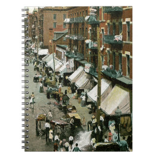 Calle New York Post de Hester Libreta Espiral
