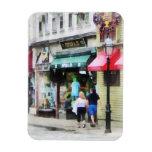 Calle Newport RI de Rhode Island - de Thames Imán Rectangular