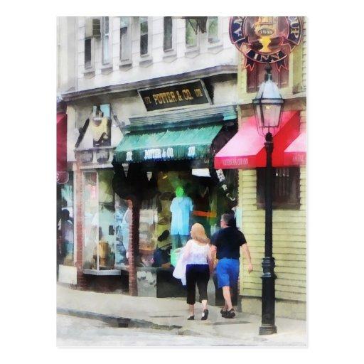Calle Newport RI de Rhode Island - de Thames Postal