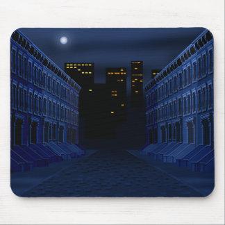 Calle oscura tapetes de ratones
