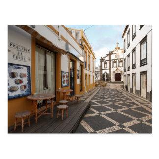 Calle peatonal tarjetas postales