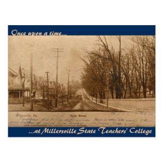 Calle principal 1906, profesor Univ del estado de  Postal