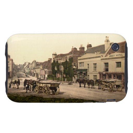 Calle principal, batalla, Sussex, Inglaterra iPhone 3 Tough Cárcasas