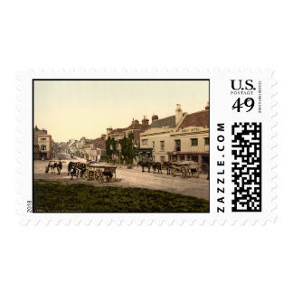 Calle principal, batalla, Sussex, Inglaterra Franqueo