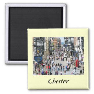 Calle principal de Chester Imán Para Frigorífico