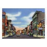 Calle principal de Frostburg Maryland Felicitaciones
