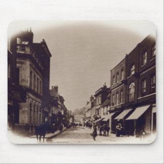 Calle principal de Godalming, Surrey, c.1900 Alfombrillas De Ratón