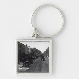 Calle principal de Kensington Londres Llaveros