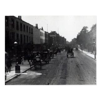 Calle principal de Kensington, Londres Postal