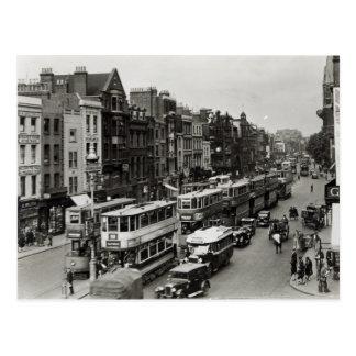 Calle principal de Whitechapel, Londres, c.1930 Postales
