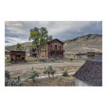 Calle principal del pueblo fantasma de Bannack - M Impresiones