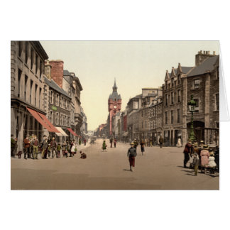 Calle principal, Hawick, fronteras escocesas, Tarjeta De Felicitación