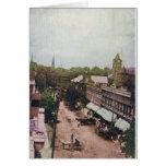 Calle principal Mcminnville Tennessee 1910 Tarjetas
