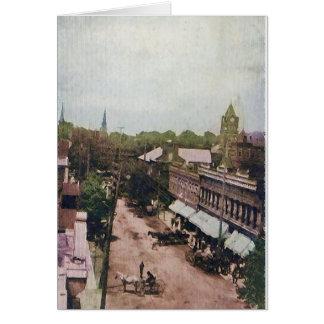 Calle principal Mcminnville Tennessee 1910 Tarjeta De Felicitación
