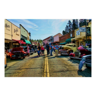 Calle principal Placerville Posters