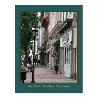 Calle principal postales