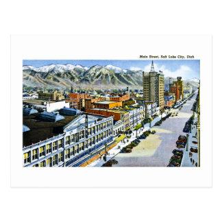 Calle principal, Salt Lake City, Utah Postales